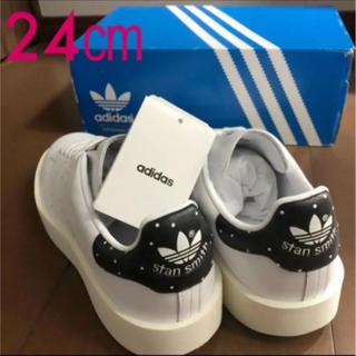 アディダス(adidas)のadidas アディダス STAN SMITH  ドット ホワイト  24cm(スニーカー)