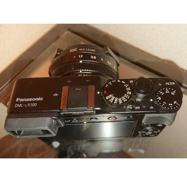 Panasonic(パナソニック)の【hiro様】Panasonic LX-100 スマホ/家電/カメラのカメラ(コンパクトデジタルカメラ)の商品写真