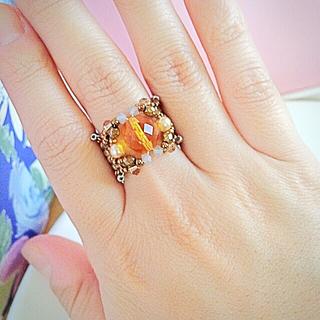 ビーズ指輪(リング(指輪))
