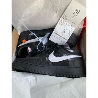 ナイキ(NIKE)のNIKE AIR FORCE 1 LOW OFF WHITE 26.5cm(スニーカー)