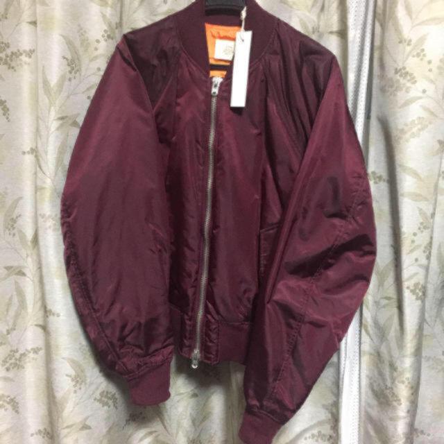 FEAR OF GOD(フィアオブゴッド)の【S】FOG bomber jacket ワインレッド メンズのジャケット/アウター(ブルゾン)の商品写真