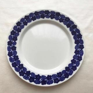 アラビア(ARABIA)のARABIA アラビア rypale プレート 17cm ブルー(食器)