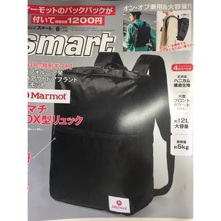 マーモット(MARMOT)のSmat6月号雑誌☆付録(バッグパック/リュック)