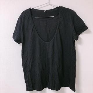 ムジルシリョウヒン(MUJI (無印良品))の無印 授乳服 半袖T(マタニティトップス)
