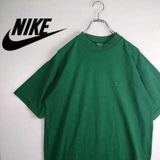 ナイキ(NIKE)のレア NIKE 90s 銀タグ ヴィンテージ ワンポイント Tシャツ 392(Tシャツ/カットソー(半袖/袖なし))