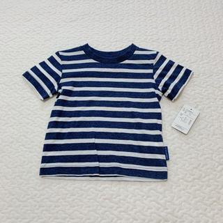ムジルシリョウヒン(MUJI (無印良品))のボーダー Tシャツ 80(Tシャツ)