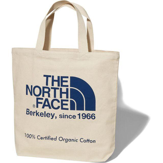 ザノースフェイス(THE NORTH FACE)のノースフェイス TNFオーガニックコットントート SO ブルー(トートバッグ)
