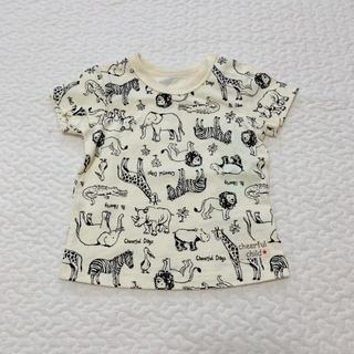 エイチアンドエム(H&M)のTシャツ 60〜70 アニマル シンプル(Tシャツ)
