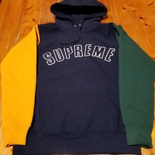 シュプリーム(Supreme)のSupreme Color Blocked Hooded Sweatshirt(パーカー)