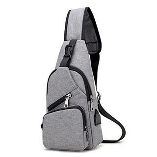 今だけ価格★バッグで携帯充電 ボディバッグ USBポート搭載(ボディーバッグ)