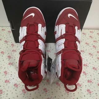 ナイキ(NIKE)のSupreme Nike Air More Uptempo(スニーカー)