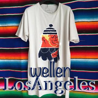 ロンハーマン(Ron Herman)のwellen surfウェレンサーフUS限定アップカマーTシャツ M(サーフィン)