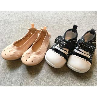 ベビーギャップ(babyGAP)の【女の子】12.5cm 靴 2足 セット!(スニーカー)