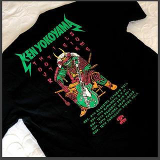 ★美品★ken yokoyama★Tシャツ★Mサイズ★デスピザ★横山健★ブラック(ミュージシャン)