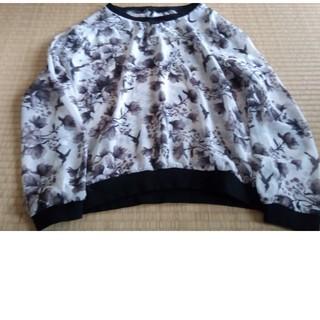 エイチアンドエム(H&M)のH&M シースルーブラウス サイズEur36(シャツ/ブラウス(半袖/袖なし))