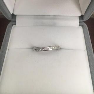 ヨンドシー(4℃)の4℃ アクニティコレクション ダイヤモンド リング Pt995 3.6g(リング(指輪))