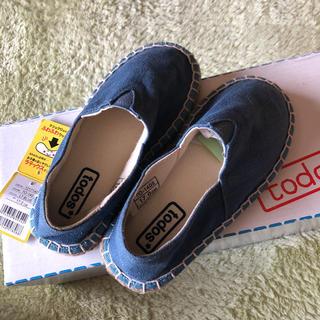 todos 17センチ 靴 新品(スリッポン)