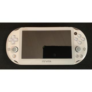 プレイステーションヴィータ(PlayStation Vita)のPSVita PCH-2000 ホワイト FW3.60(携帯用ゲーム本体)