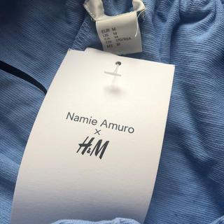 エイチアンドエム(H&M)の安室奈美恵 H&M オフショルダーワンピース タグ付き(ミニワンピース)