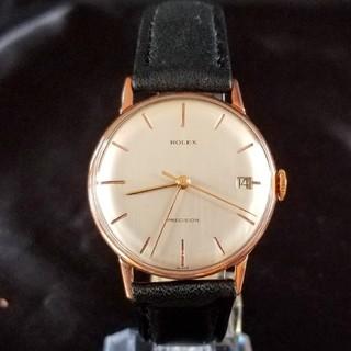 ロレックス(ROLEX)の★ROLEX ロレックス PRECISION アンティーク ホワイト 18K★(腕時計(アナログ))