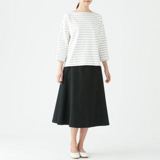 ムジルシリョウヒン(MUJI (無印良品))の新品 無印良品 縦横ストレッチチノスカート S(ひざ丈スカート)