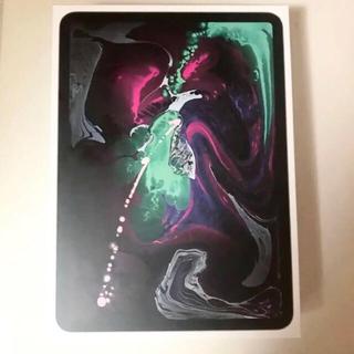 アイパッド(iPad)の最新型 iPad pro 11 wifi 256GB スペースグレイ(タブレット)