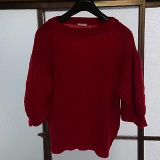 ジーユー(GU)のGU 七分袖ニット(ニット/セーター)