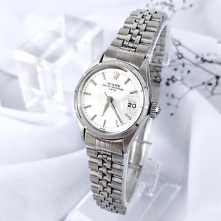 ロレックス(ROLEX)の【仕上済】ロレックス オイスター デイト シルバー レディース 腕時計(腕時計)