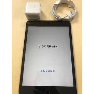 アイパッド(iPad)のiPad mini4 スペースグレー 128GB wifi simフリー(タブレット)