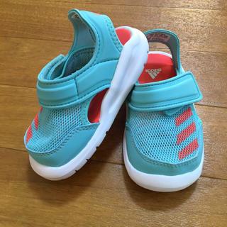 アディダス(adidas)のアディダス メッシュサンダル 美品(サンダル)