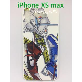 ナイキ(NIKE)の送料無料!新品.NIKE スニーカー柄 iPhoneケース XS max(iPhoneケース)