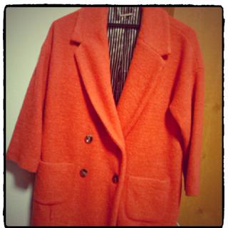 ダズリン(dazzlin)のオレンジ★コート(テーラードジャケット)