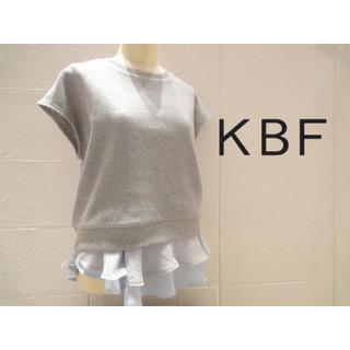 ケービーエフ(KBF)のKBF♡トップス(カットソー(半袖/袖なし))