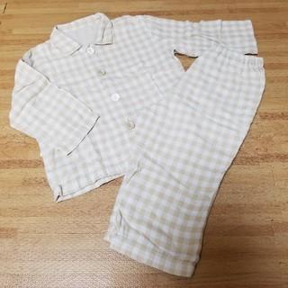 ムジルシリョウヒン(MUJI (無印良品))の無印90サイズコットンパジャマ(パジャマ)