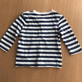 ムジルシリョウヒン(MUJI (無印良品))のボーダーロンT(Tシャツ)