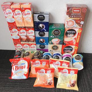 ネスレ(Nestle)のネスカフェ ゴールドブレンド バリスタ ふわラテ ネスレ ブライト 詰め合わせ(コーヒー)