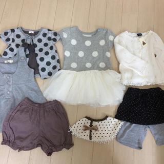 31b79d6f51552 ベビーギャップ(babyGAP)のナチュラル◯女の子 お洋服。◯サイズ80センチ