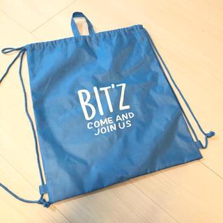 ビッツ(Bit'z)の新品未使用 BIT'S 巾着 ナップサック(リュックサック)