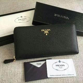 プラダ(PRADA)のプラダ ブラック 長財布 PRADA(財布)