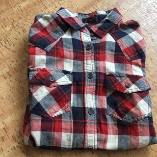 シマムラ(しまむら)のチェックシャツ 長袖(シャツ/ブラウス(長袖/七分))