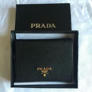 プラダ(PRADA)のプラダ 二つ折り財布 (財布)