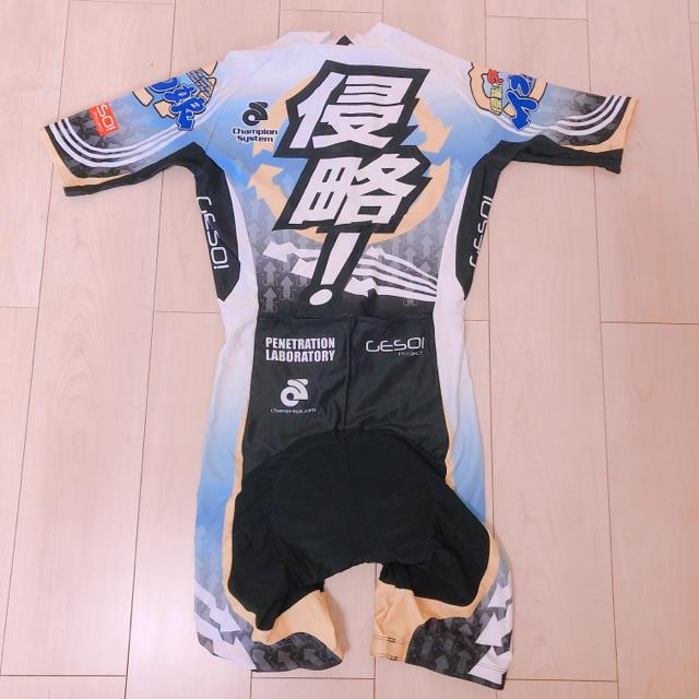 サイクルウェア ロードバイク ウェア メンズ イカ娘 スポーツ/アウトドアの自転車(ウエア)の商品写真