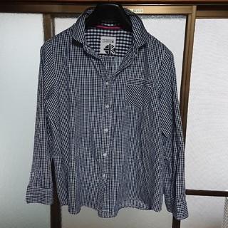 シマムラ(しまむら)のHK WORKS ギンガムチェックシャツ(シャツ/ブラウス(長袖/七分))