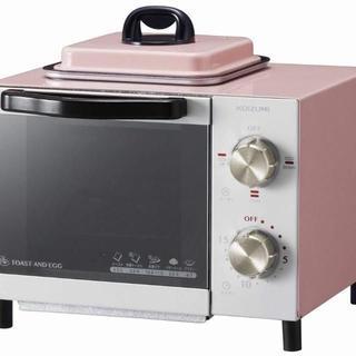 オーブントースター コイズミ ピンク