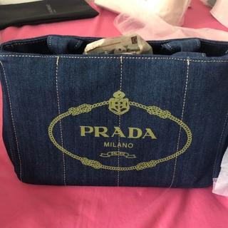 プラダ(PRADA)のPRADA プラダ カナパ ブラック S サイズ 正規品(ハンドバッグ)