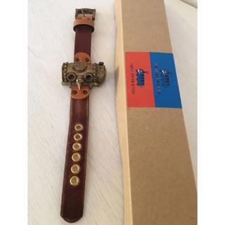 ジブリ(ジブリ)の新品 ジブリ美術館オリジナル腕時計 天空の城ラピュタ タイガーモス 限定品 (キャラクターグッズ)