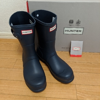 ハンター(HUNTER)のHUNTER メンズレインブーツ UK8(長靴/レインシューズ)