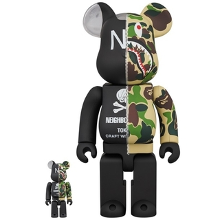 A BATHING APE - A BATHING APE NEIGHBORHOOD BE@RBRICK