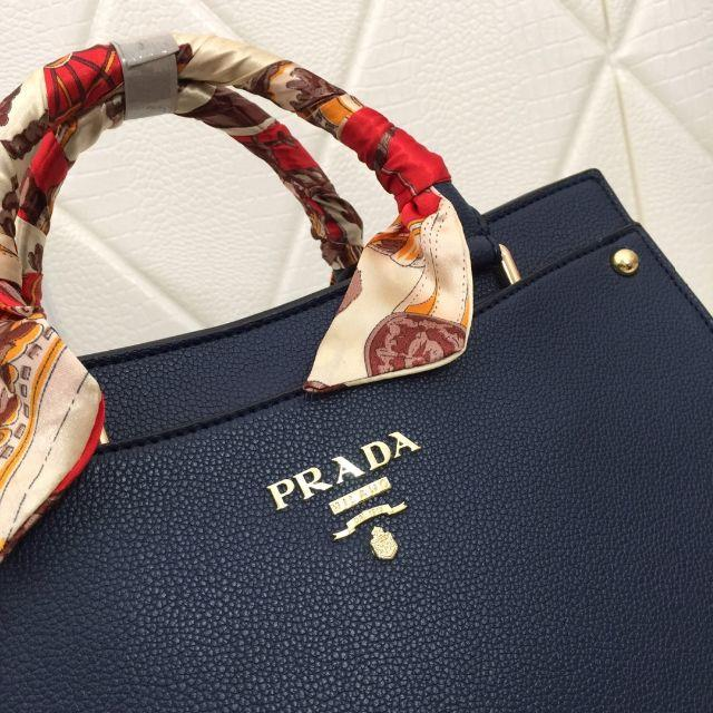 PRADA(プラダ)のPRADA レディース パニエ サフィアーノ ハンドバッグ レディースのバッグ(ハンドバッグ)の商品写真