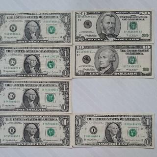 ドル紙幣(貨幣)